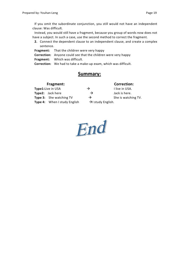 conjunction list business writing