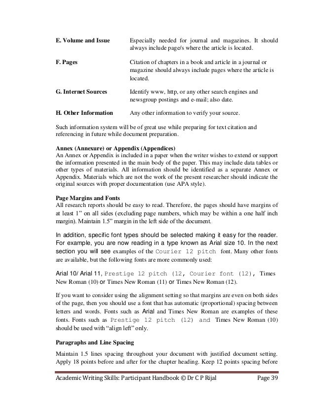 Article writing needed journal