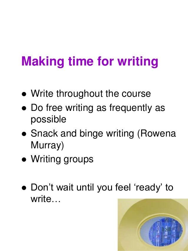 Ioe academic writing courses