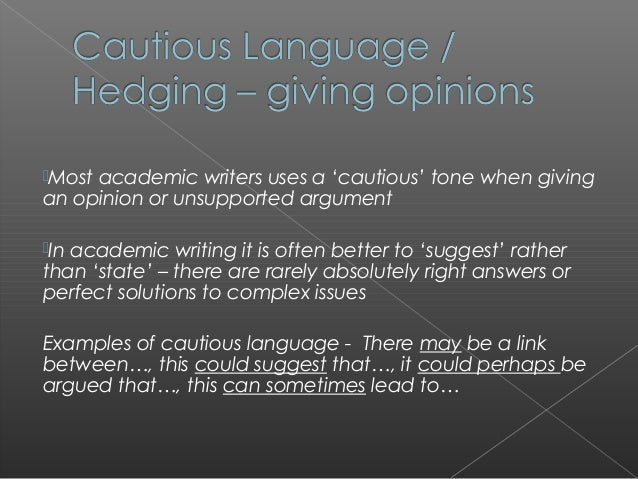 what is the meaning of academic writing