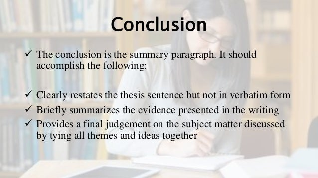 summarizing in thesis form Writing an objective summary  summarizing step #1: 3-part topic sentence a name it: identify the title of the text and the author wednesday, september 25, 13.