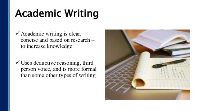 Authority academic writing