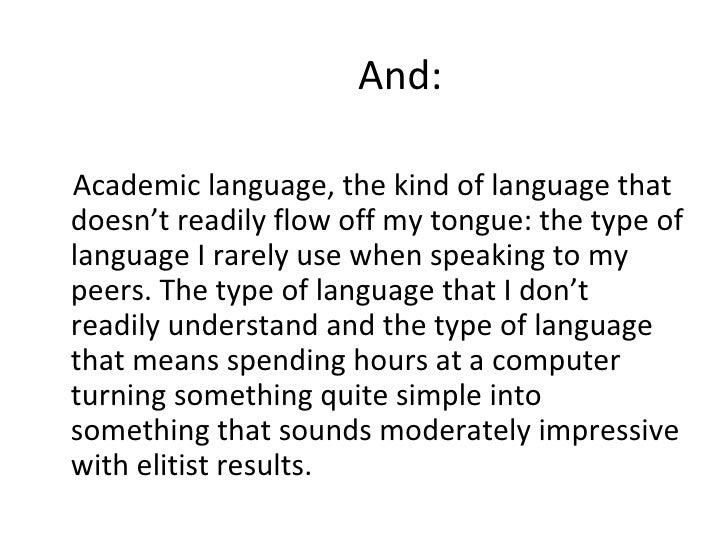 Academic essay phrases
