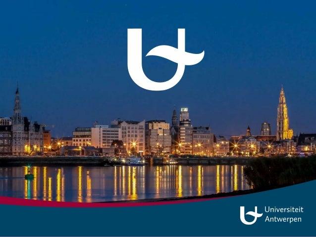 Academisch Erfgoed in de Universiteit Antwerpen Balans en perspectief Academisch erfgoed in Vlaanderen Trudi Noordermeer 1...