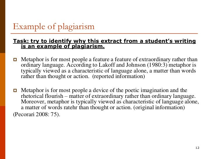Appropriate Use Of Sources In Academic Writing