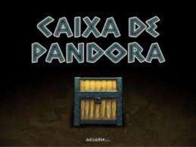 Pandora foi enviada pelos deuses para junto dos humanos com uma caixa onde estavam todos os males.