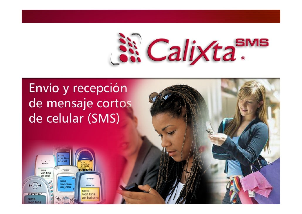 Calixta-SMSEnvío masivo de mensajes cortos a celulares (SMS)