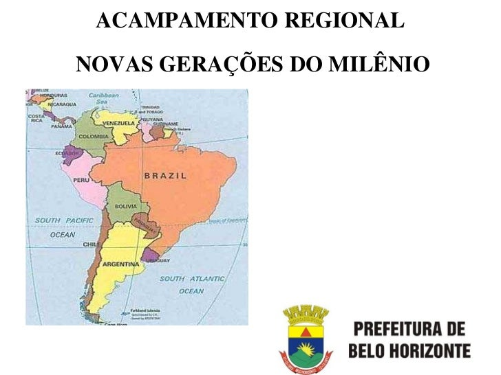 ACAMPAMENTO REGIONALNOVAS GERAÇÕES DO MILÊNIO