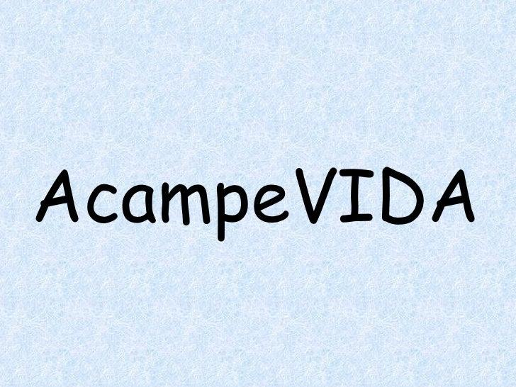 AcampeVIDA