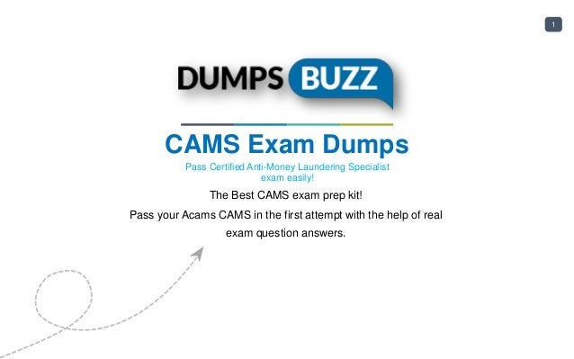 acams cams dumps - 100% success guarantee on cams exam