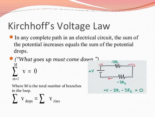 Ac And Dc Meters And Kirchoffs Laws on example circuit diagram