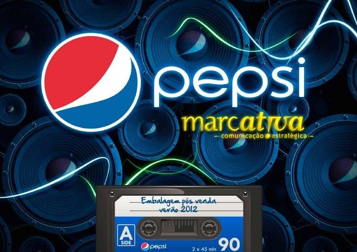 Acao promocional embalagem pepsi pos venda verao 2012
