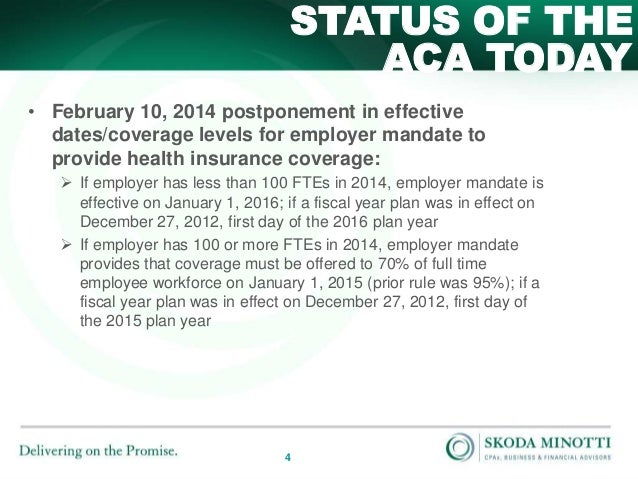 Affordable Care Act: Preparing for the 2015 Tax Provisions