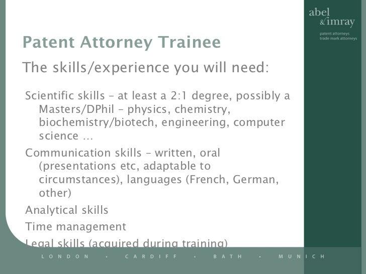 Patent Attorney ...