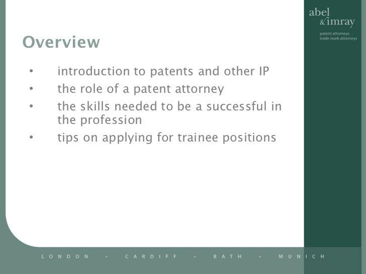 ... European Patent Attorney 1 December 2011; 2.