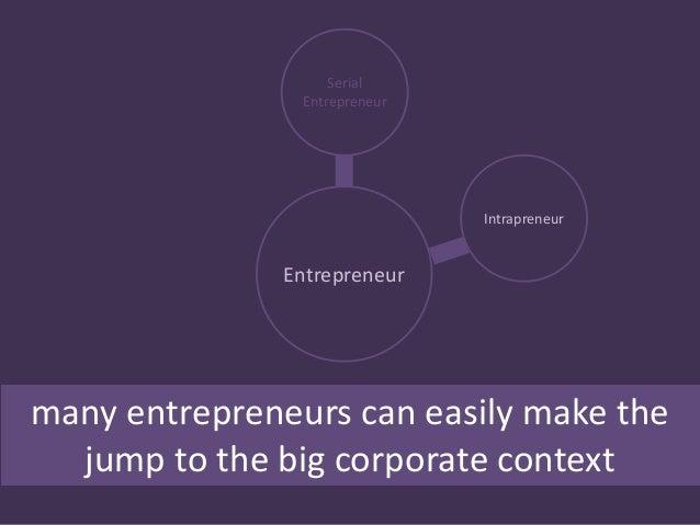 How an entrepreneur can uild an