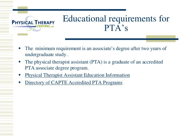 How to Become a PTA   a Video from the APTA