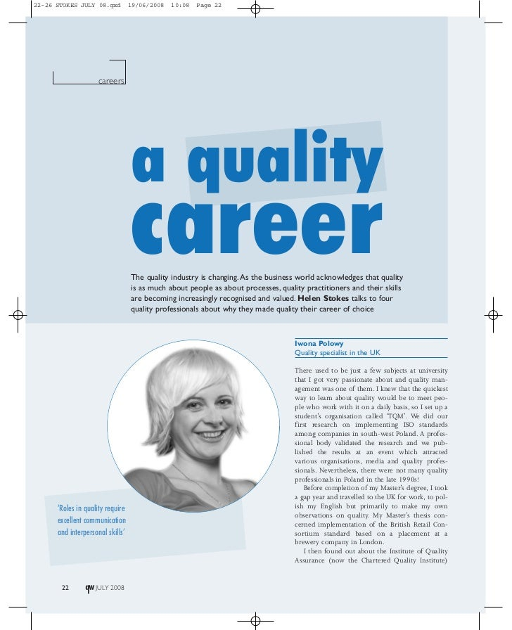 22-26 STOKES JULY 08.qxd          19/06/2008   10:08   Page 22                    careers                                 ...