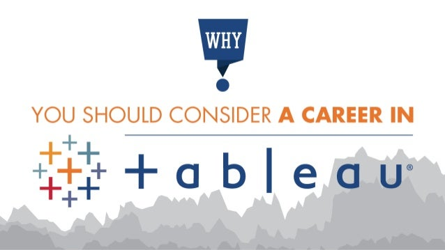 Tableau is a breathtaking data visualization tool that redefined the way people use data