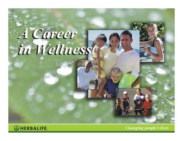 A Career in Wellness