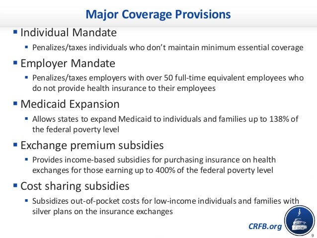 Chartbook affordable care act repeal replace effects - Minimum essential coverage plan design ...