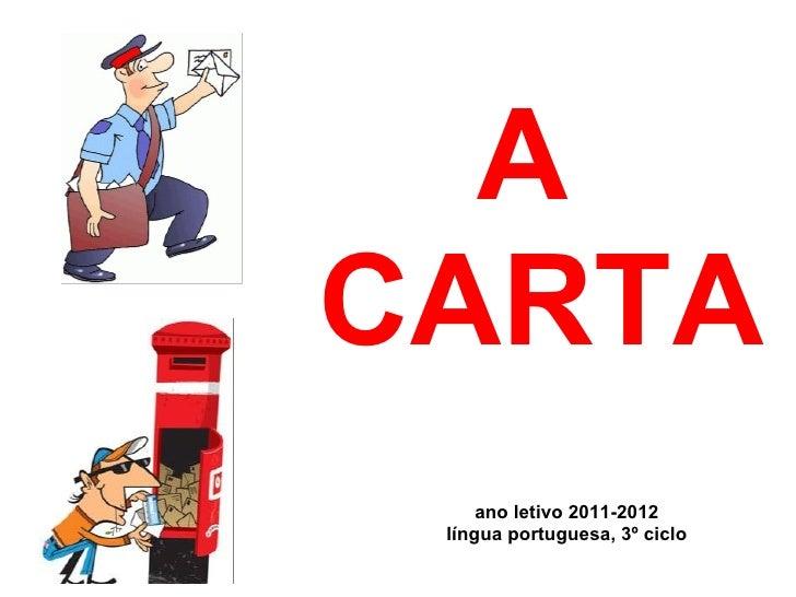 ACARTA     anoletivo2011-2012 línguaportuguesa,3ºciclo