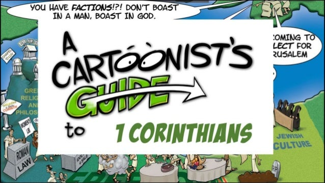 A Cartoonist's Guide to 1 Corinthians