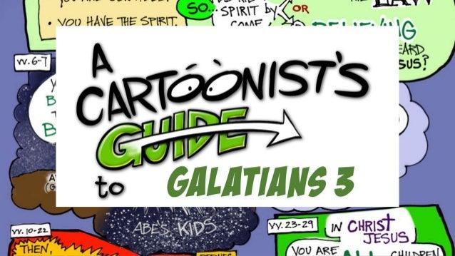 Galatians 3:1-9, 23-29