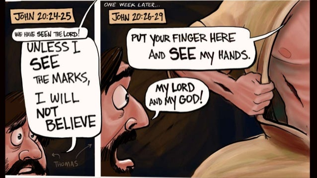 A Cartoonist's Guide to Holy Week in john