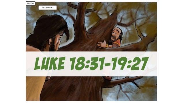 A Cartoonist's Guide to Luke 18:31-19:27