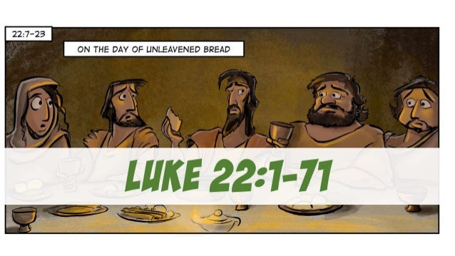 A Cartoonist's Guide to Luke 22