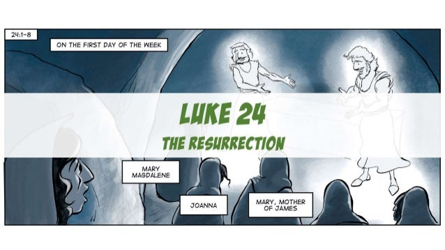 A Cartoonist's Guide to Luke 24 | The Resurrection