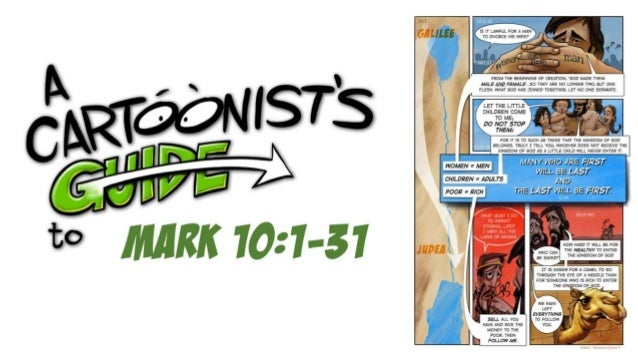 A Cartoonists Guide to Mark 10:1-31
