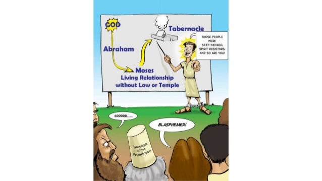 A Cartoonist's Guide to Stephen in Acts 6:8-8:1