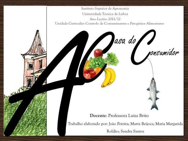 Instituto Superior de Agronomia                 Universidade Técnica de Lisboa                      Ano Lectivo 2011/12   ...