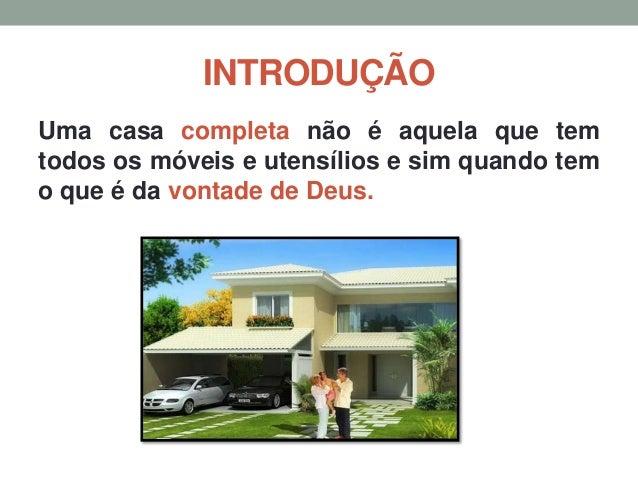 A casa que deus quer - UMA PALAVRA PARA FAMÍLIA Slide 3