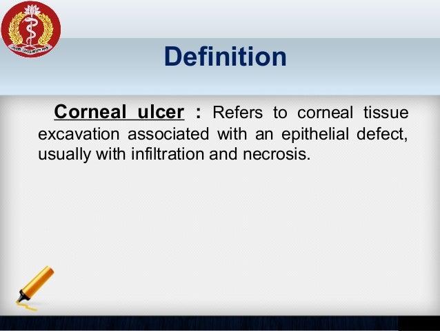 Corneal Ulcer   Slide 2