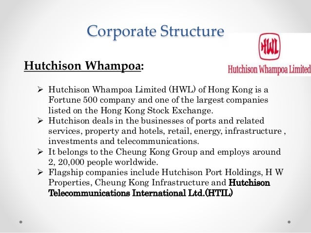 case study on hutchison whampoa Institutional voids and tax litigation in emerging  the verdict of vodafone cross-border acquisition of hutchison  successfully completing case study.