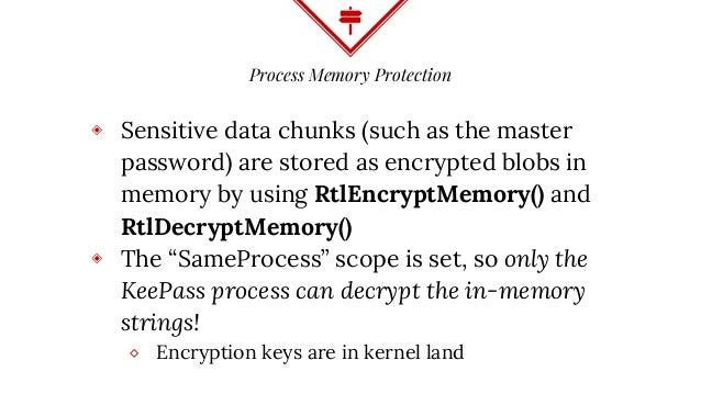 A Case Study in Attacking KeePass