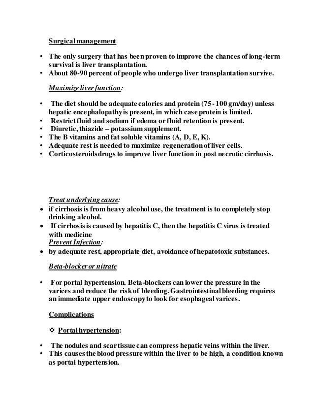 hesi case study cirrhosis answers