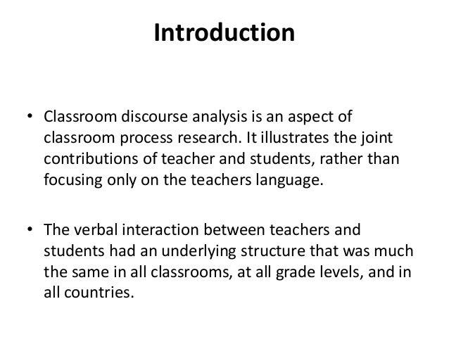 classroom discourse analysis Classroom discourse for language teachers  the importance of classroom  discourse analysis for elt teachers 17,499 views share like.