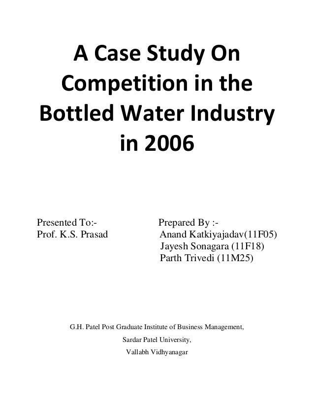 Boss bottled case study