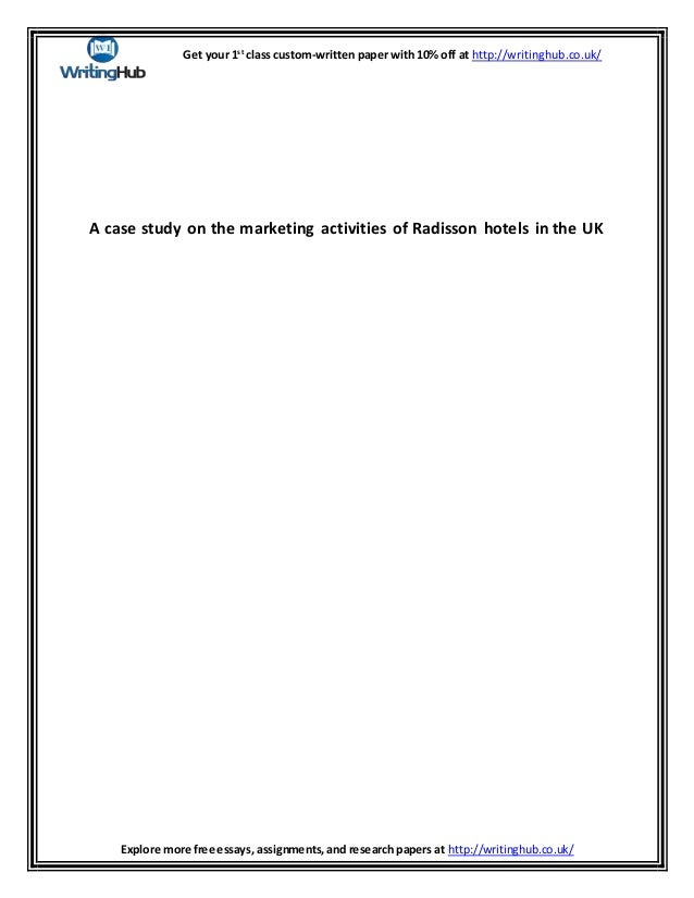 Radisson Hotels Essay