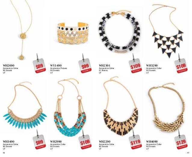 A catalogo moda club liquidacion total ropa y accesorios for Catalogo de accesorios