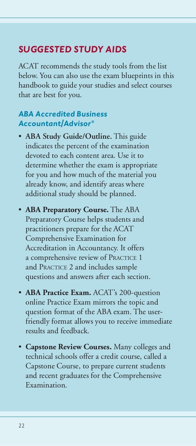 ACAT student learning outcomes assessment