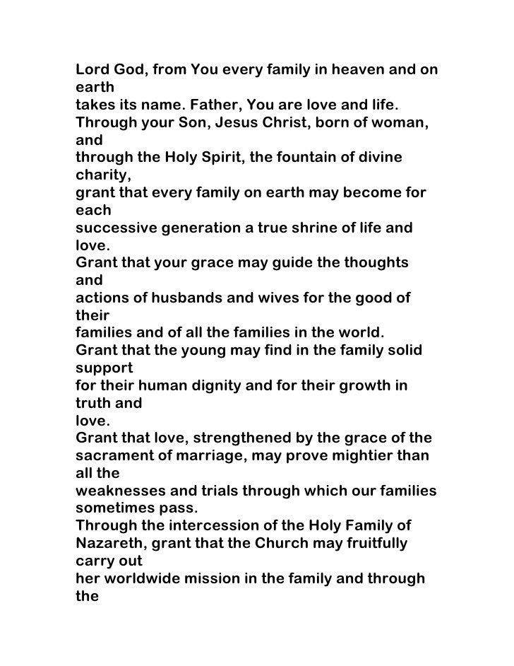 Catholic prayer for happy marriage