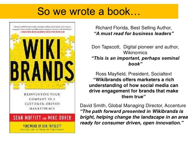 """So we wrote a book…<br />Richard Florida, Best Selling Author,<br />""""A must read for business leaders""""<br />Don Tapscott, ..."""