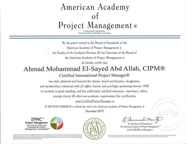 08 CIPM Certification