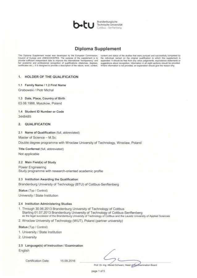 Diploma Supplement_BTU_ANG