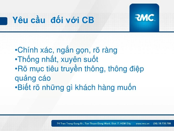 Điều quan trọng nhất của Bản Client Brief Slide 3